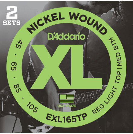 DADDARIO EXL165TP 045 - 105 (Twin-Pack)