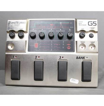 Korg Tone Works G5 Synth Bass Processor USED. Good condition. No box with PSU.