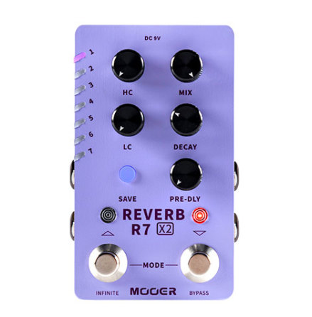 Mooer Reverb R7 X2
