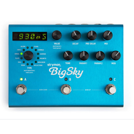 Strymon Big Sky Multi Reverb