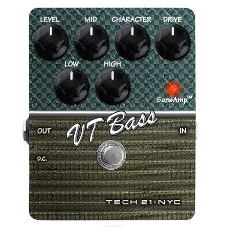 Tech 21  VT Bass Character Series