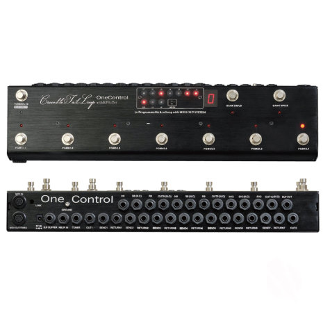 One Control Crocodile Tail 10 channel Looper