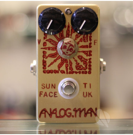 Analog Man SunFace Fuzz 1968 Texas Instr (UK) Germanium
