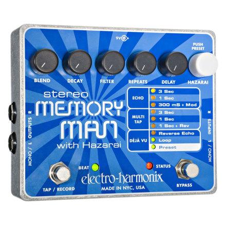 Electro Harmonix XO Stereo Memory Man with Hazarai