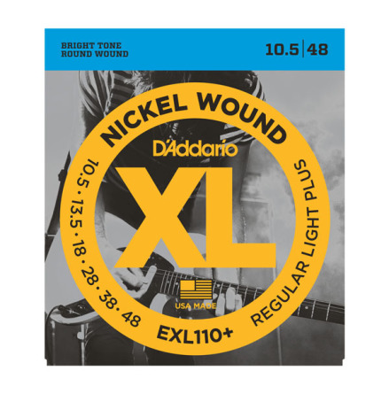 D´Addario Elgitarr Nickel Wound 0105-048