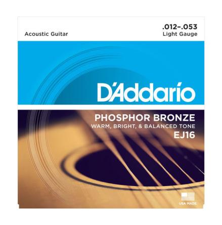 DADDARIO EJ16 Western Phosphor Bronze 012-053