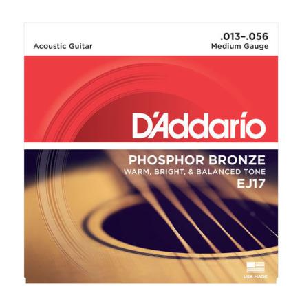 DADDARIO EJ17 Western Phosphor Bronze 013-056