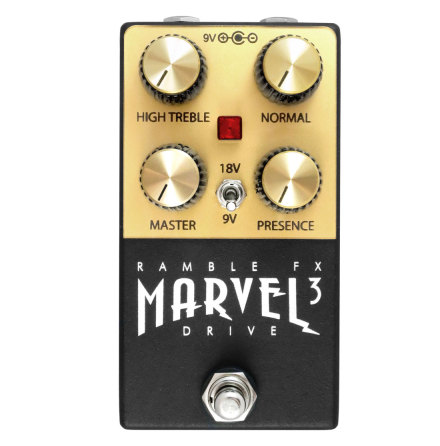 Ramble FX Marvel Drive BLACK v3