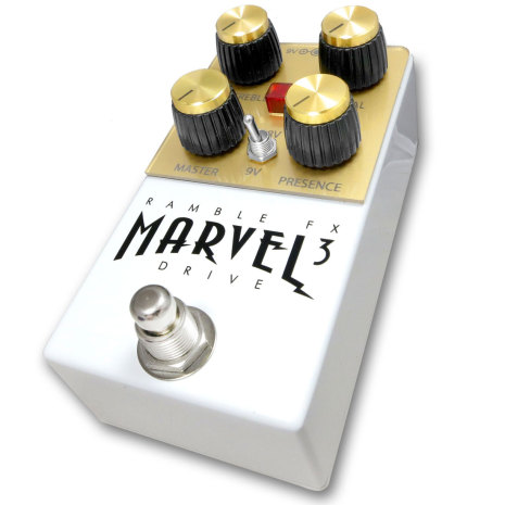 Ramble FX Marvel Drive WHITE v3
