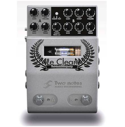 Two Notes Le Clean Midi Tube Preamp