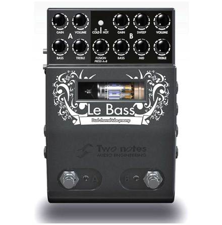 Two Notes Le Bass Midi Tube Preamp